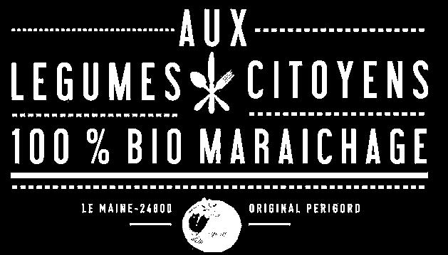 logo, icon, logo blanc Aux Légumes Citoyens